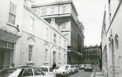 Beau Street, Bath 1987