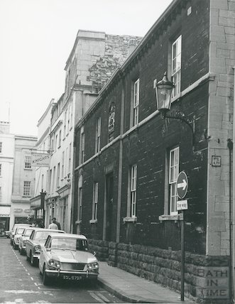 Bellotts Hospital, Beau Street October 1972