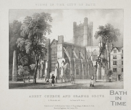 Abbey Church and Orange Grove, Bath