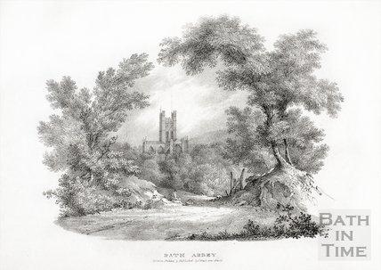 Bath Abbey, Bath c.1830