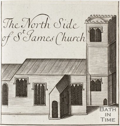 St. James's Church 1694 - detail