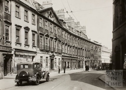 Westgate Buildings, Bath 1932