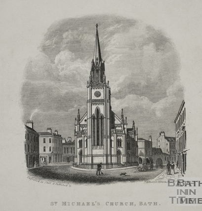 St. Michael's Church, Bath c.1846