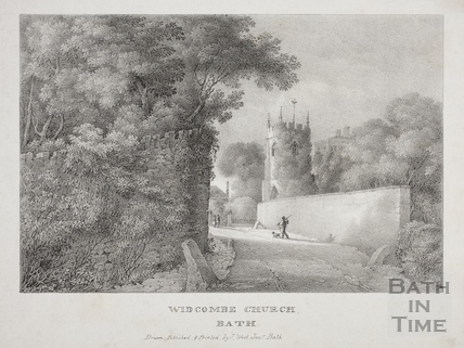 Widcombe Church, Bath c.1830
