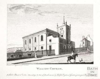Walcot Church, Bath 1784