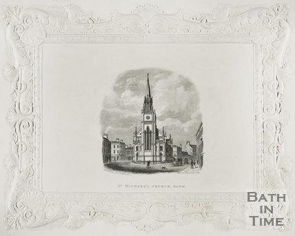 St. Michael's Church, Bath c.1846
