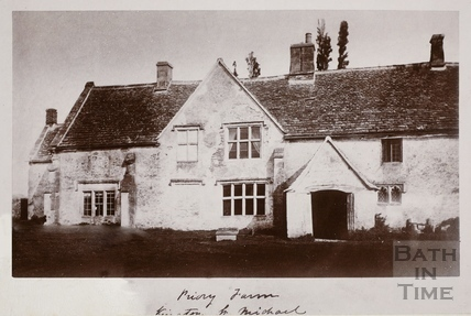 Priory Farm, Kington St. Michael, Wiltshire 1877