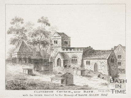 Claverton Church near Bath 1796