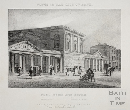 Pump Room and Baths, Bath 1829