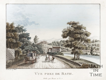 Vue Pres de Bath c.1785. View Near to Bath (at Batheaston)