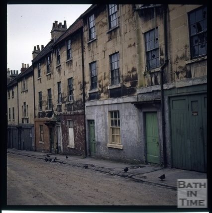 Snowdon. Lampard's Buildings, Bath 1972