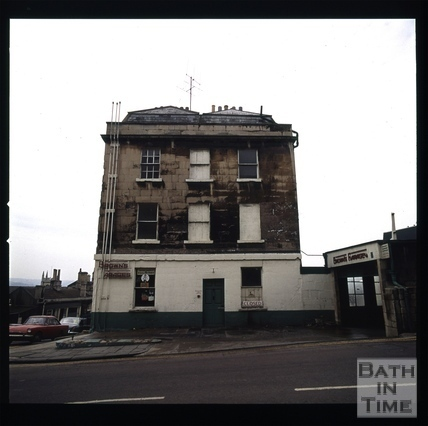 Snowdon. Belvedere Place, Lansdown Road, Bath 1972