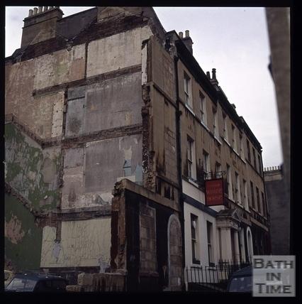 Snowdon. Northampton Street, Bath 1972