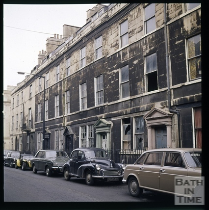 Snowdon. Rivers Street, Bath 1972