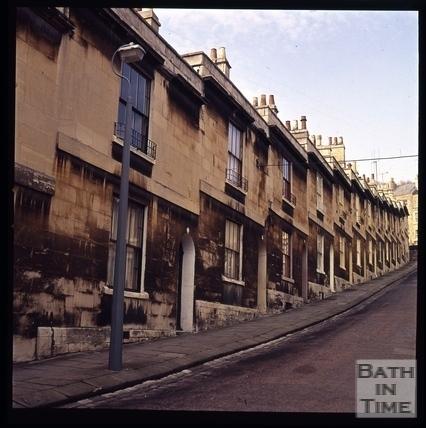 Snowdon. Brunswick Street, Bath 1972