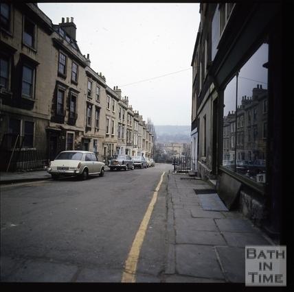 Snowdon. Chatham Row, Bath 1972