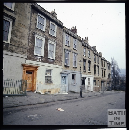Snowdon. Chatham Row, Bath 1972