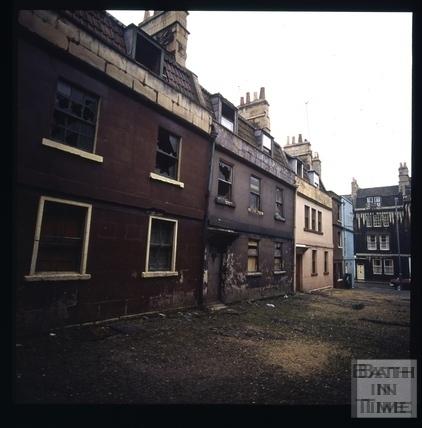 Snowdon. St. Ann's Place, Bath 1972