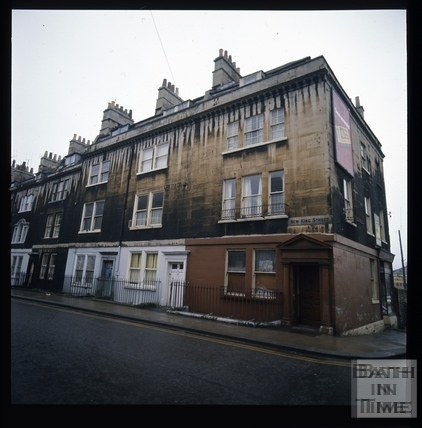 Snowdon. New King Street, Bath 1972