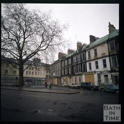 Snowdon. Kingsmead Square, Bath 1972