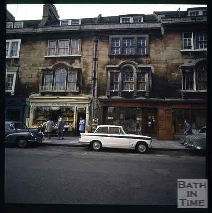 Snowdon. St. James's Parade, Bath 1972