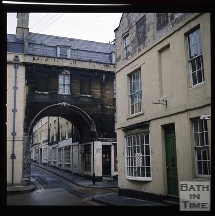 Snowdon. Trim Bridge, Bath 1972