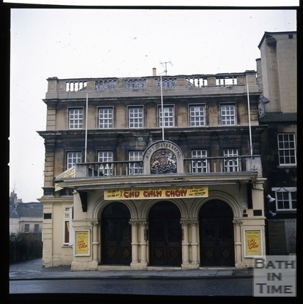 Snowdon. Theatre Royal, Sawclose, Bath 1972