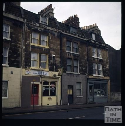 Snowdon. St. George's Place, Upper Bristol Road, Bath 1972