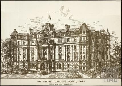 The Sydney Gardens Hotel, Bath