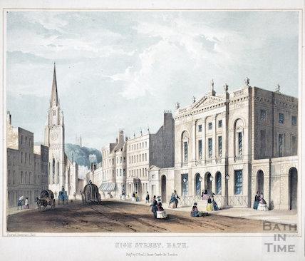 High Street, Bath c.1851