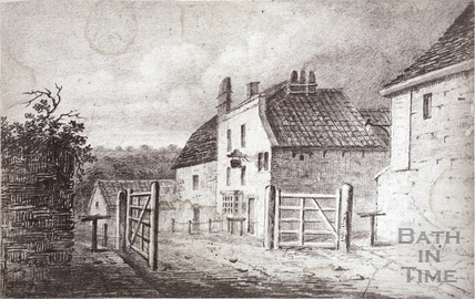 The Bear Inn and Brewery, Holloway, Bath pre-1850