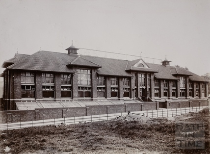 Bath Cabinet Makers Factory, Bellott's Road, Twerton, Bath c.1890