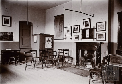 Interior of the Church Room, Twerton, Bath c.1890