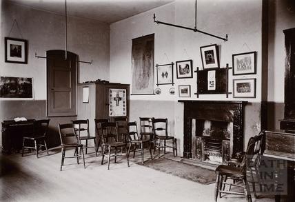 Interior of the Church Room, Twerton, Bath c.1890