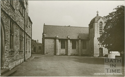 The Chapel, Monkton Combe School c.1950