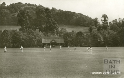 The Cricket Club, Monkton Combe c.1950