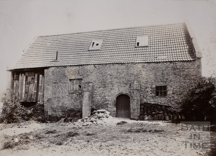 The Old Barn on its northern side, Twerton, Bath c.1904