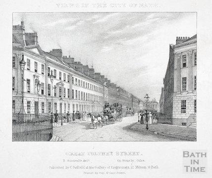Great Pulteney Street, Bath c.1830