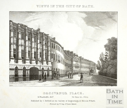 Grosvenor Place, Bath c.1830