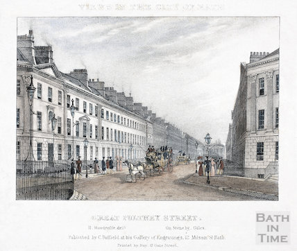 Great Pulteney Street, Bath c.1830