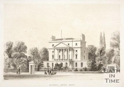 Pulteney Hotel, Sydney Gardens, Bath c.1840