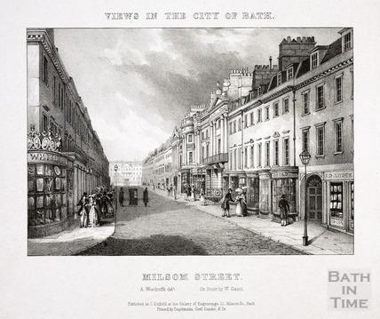 Milsom Street, Bath 1828