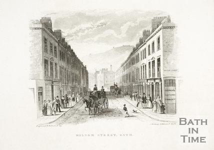 Milsom Street, Bath c.1837