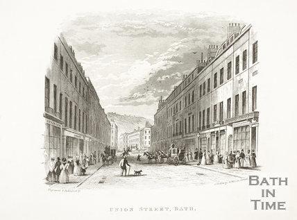 Union Street, Bath c.1846