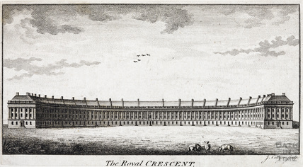 The Royal Crescent, Bath c.1774