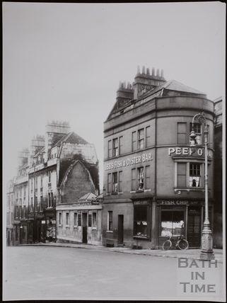 New Westgate Buildings near Sawclose, Bath 1936
