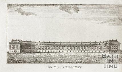The Royal Crescent, Bath 1790