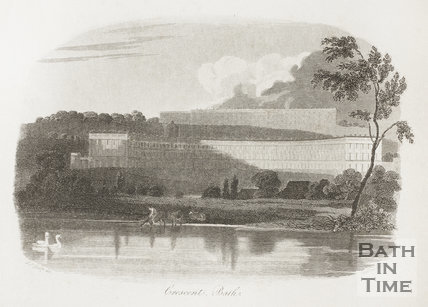 The Royal Crescent, Bath 1813