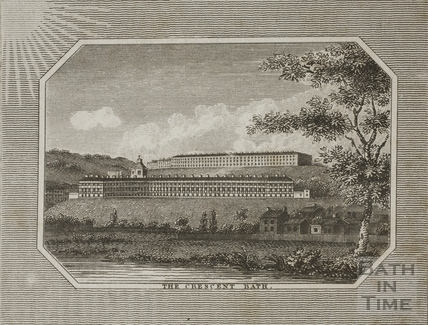 The Royal Crescent, Bath 1804
