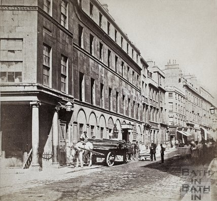 The White Hart Inn, Stall Street, Bath c.1867